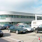General Aviation Flughafen Stuttgart, Neubau Flugzeugabstellhallen mit Abfertigungsgebäude